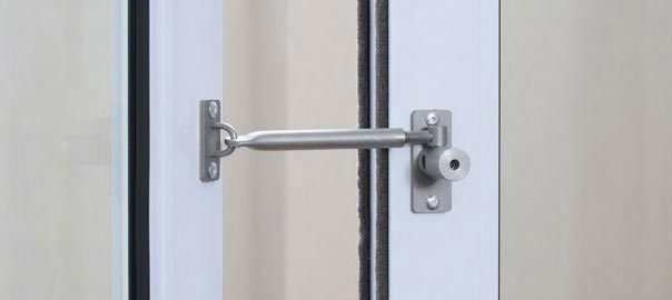 How to open a locked sliding door