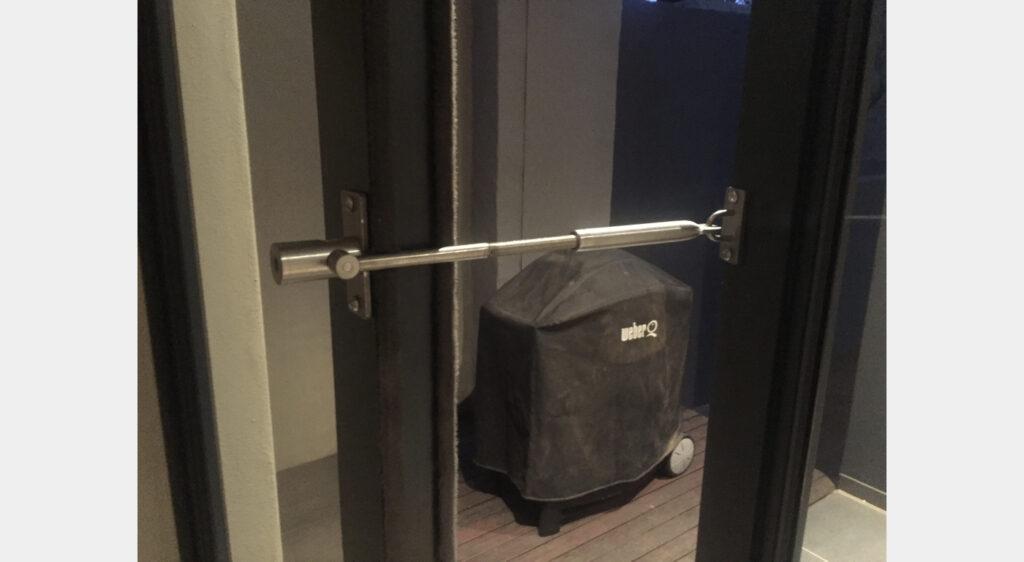 LockLatch for ventilation
